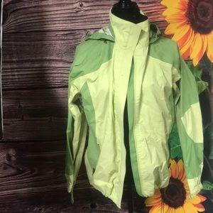 LL bean small woman's raincoat